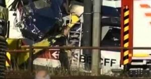 Alemania: Choque frontal de trenes, hay víctimas fatales