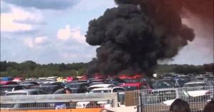 Reino Unido: Un avión se estrelló cerca del aeropuerto de Blackbushe